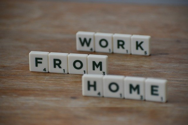 Working from home letters