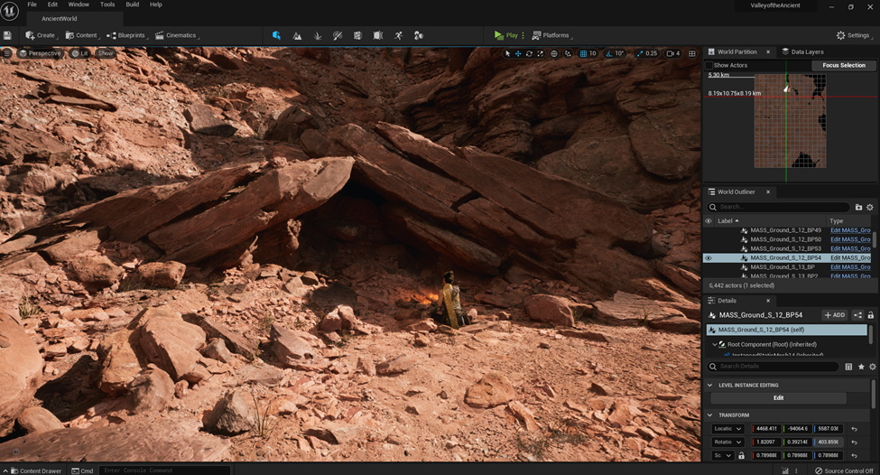 Unreal Engine 5 - UI and Workflow
