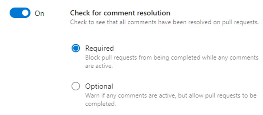 Check for comment resolution