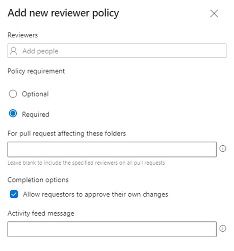 Add new reviewer policy