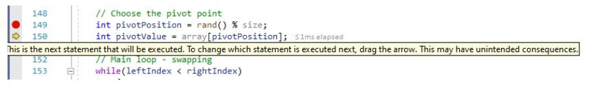A closer look at Set next statement