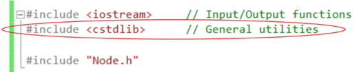 cstdlib in C++ example
